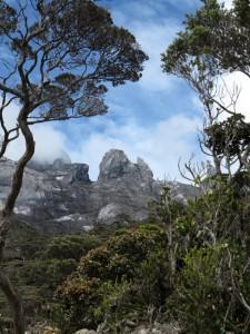 Gunung Kinabalu in a distance